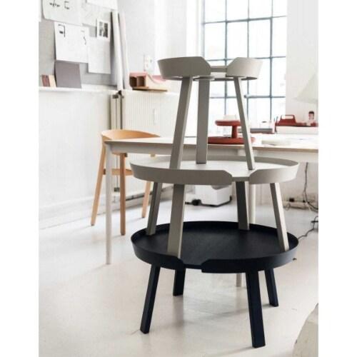 muuto Around Coffee salontafel XL-Zwart