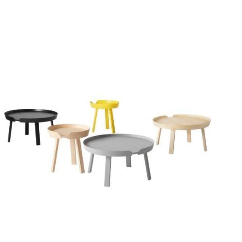 muuto Around coffee table large-Antraciet