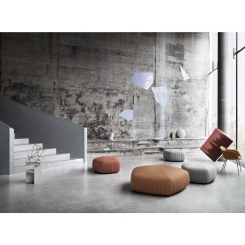 muuto Fiber Wood gestoffeerde stoel-Remix 133