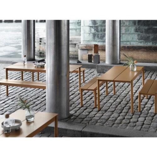 muuto Linear tafel 140x80-Wit