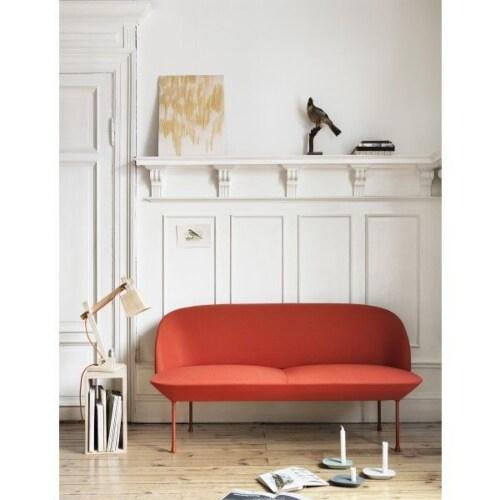 muuto Oslo sofa 2 zits bank-Steelcut Trio 966