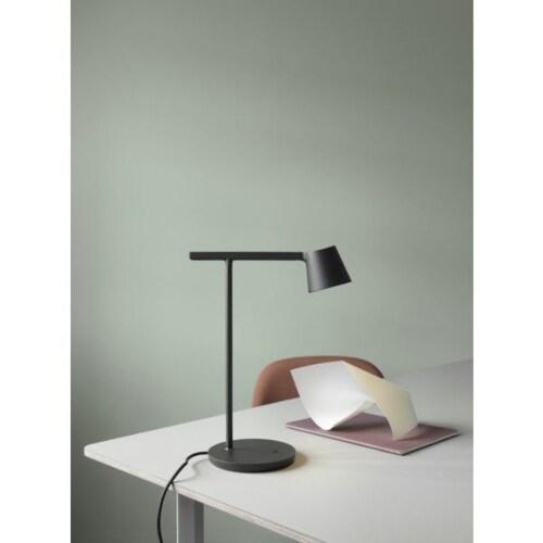 muuto Tip LED bureaulamp-Zwart