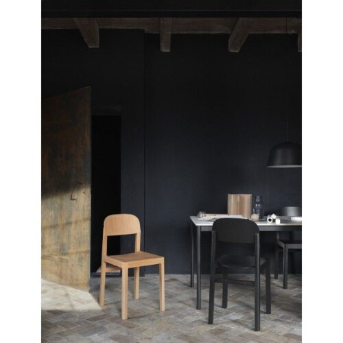 muuto Workshop stoel-Zwart