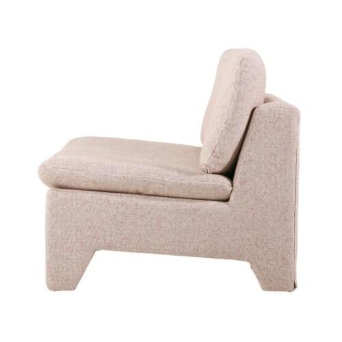 HK Living Retro Lounge fauteuil-Nude melange