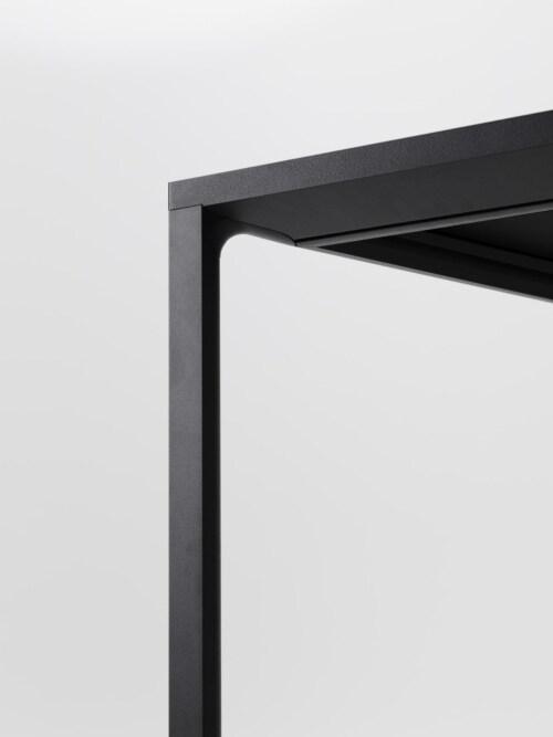 HAY New Order Comb. 401 kast + tafel -Charcoal-Met muurbeveiligingsbeugel