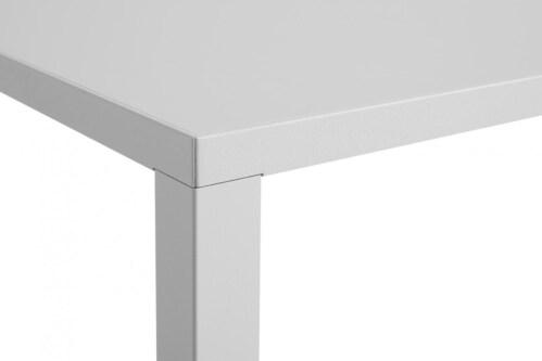 HAY New Order Comb. 401 kast + tafel -Light grey-Met muurbeveiligingsbeugel