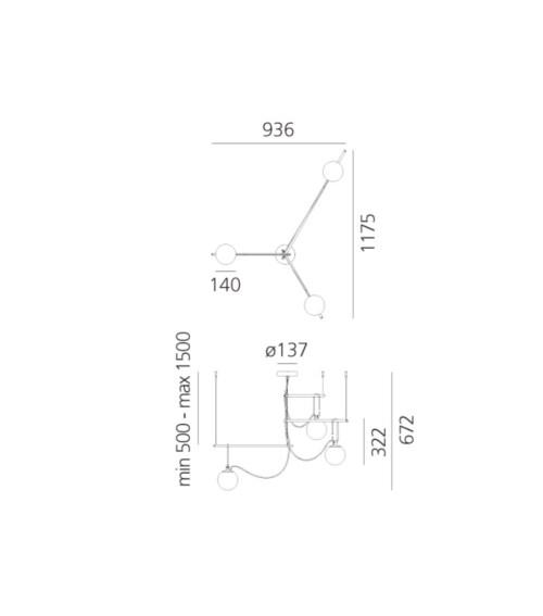 Artemide S3 14 hanglamp