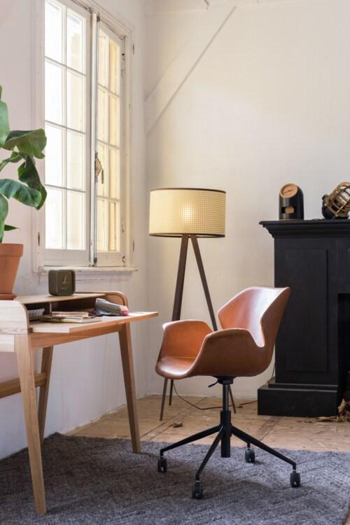 Zuiver Nikki Office stoel-Zwart
