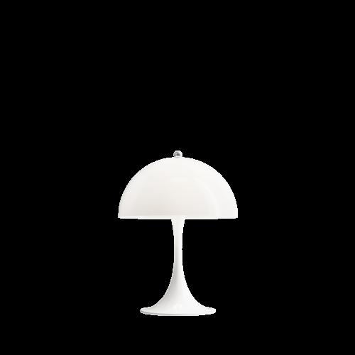 Louis Poulsen Panthella Mini tafellamp-Wit opaal acryl