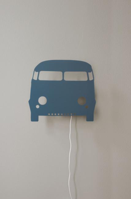 Ferm Living Car wandlamp-Petrol