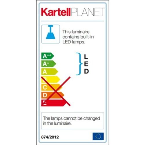 Kartell Planet tafellamp laag-Kristal