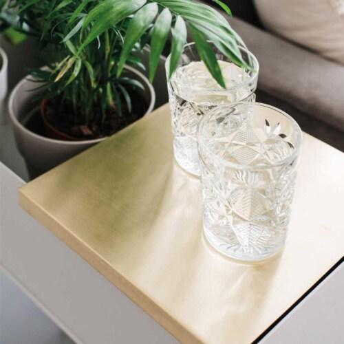 Ferm Living Plant Box Tray-Messing