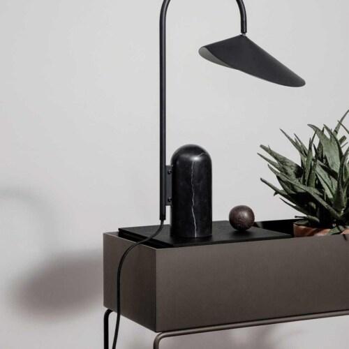 Ferm Living Plant Box Tray Wooden-Eiken-zwart