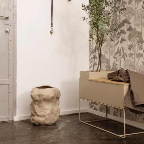 Ferm Living Plant Box Large Pot-Cashmere