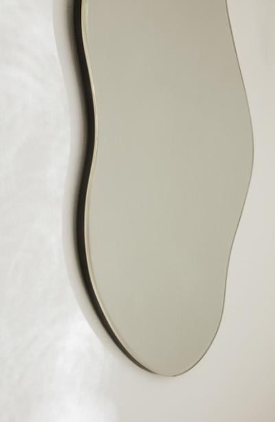 Ferm Living Pond Large spiegel-Brass