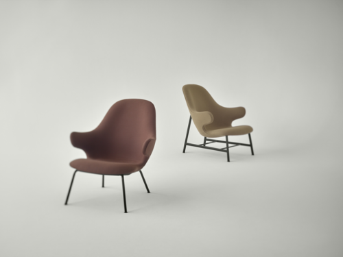&tradition Catch JH13 fauteuil-Donker grijs