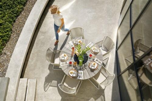 Hartman Provence Crossleg tafel-Licht grijs