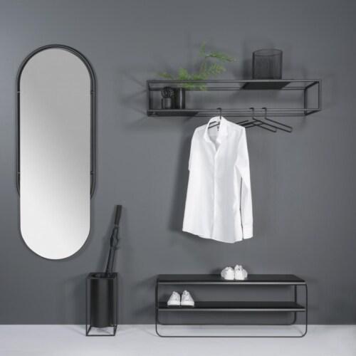 Torna Design Rack wandkapstok-118x21 cm