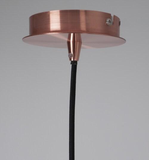 Zuiver Retro 70 hanglamp-Koper-∅ 40 cm