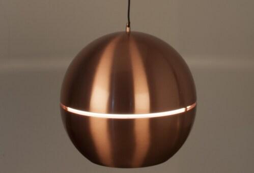 Zuiver Retro 70 hanglamp-Koper-∅ 50 cm