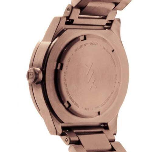LEFF Amsterdam Tube S38 staal-Rose gold
