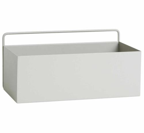 Ferm Living Wall Box rechthoekig-Licht grijs