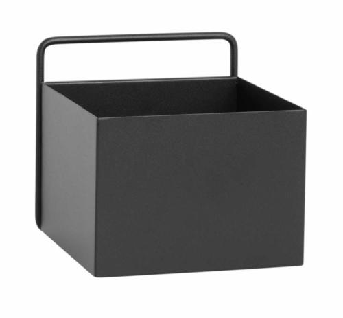 Ferm Living Wall Box vierkant-Zwart