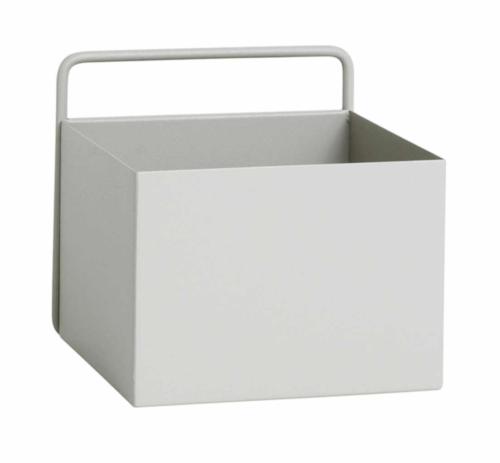 Ferm Living Wall Box vierkant-Licht grijs