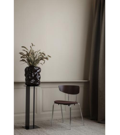 Ferm Living Herman Chroom stoel-Donker eiken