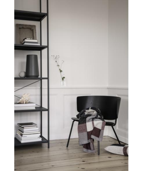 Ferm Living Herman lounge stoel-Zwart