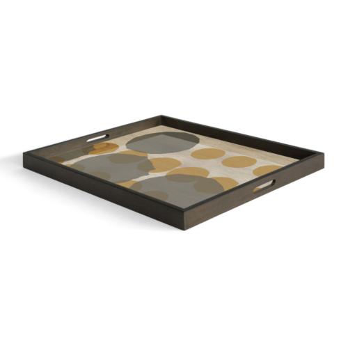Ethnicraft Sienna Layered Dots 61 cm dienblad / tafel-Dienblad