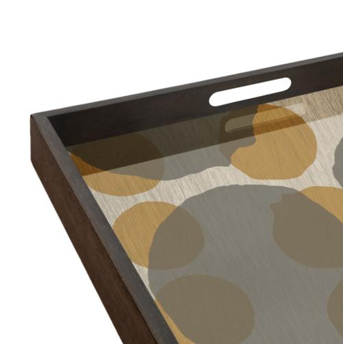 Ethnicraft Sienna Dots 69 cm dienblad/tafel-Dienblad
