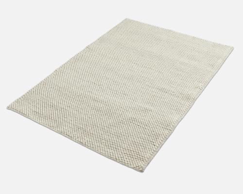 WOUD Tact vloerkleed-Off-white-90x140 cm