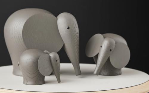 WOUD Nunu taupe olifant-Small