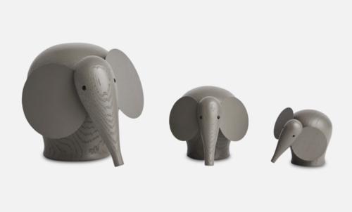WOUD Nunu taupe olifant-Medium