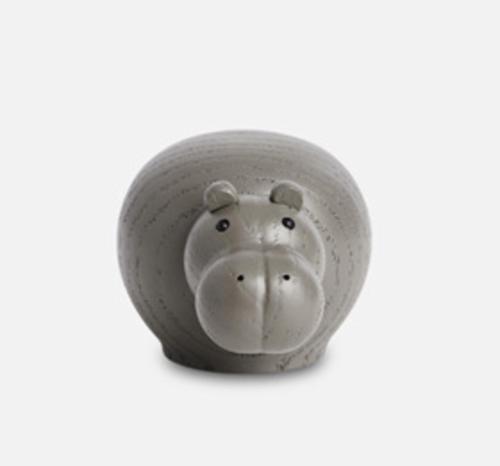WOUD Hibo taupe nijlpaard-Mini