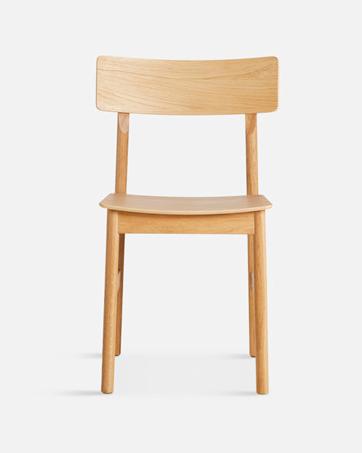 WOUD Pause Dining Chair stoel-Geolied eiken