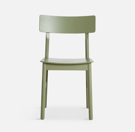 WOUD Pause Dining Chair stoel-Olive Green