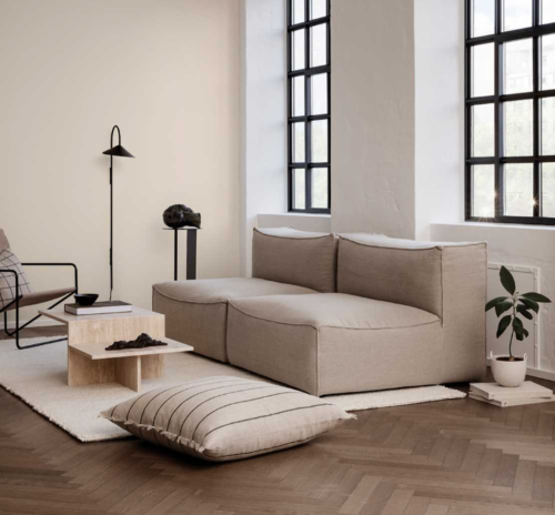 Ferm Living Catena fauteuil-Dry Cotton Slub