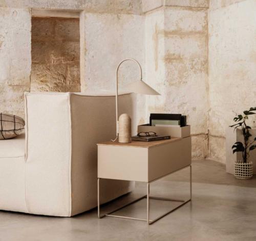 Ferm Living Catena fauteuil-Rich Linen