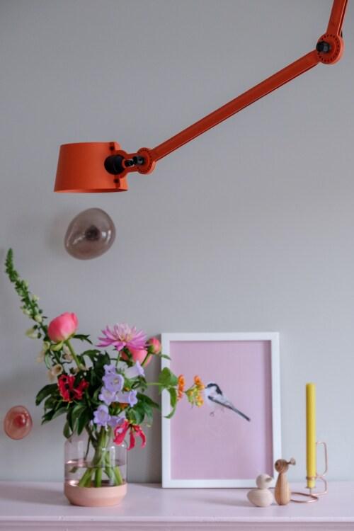 Tonone Bolt 1 Arm Side Fit Install plafondlamp-Ash grey