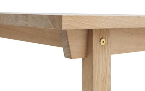 Normann Copenhagen Slice - tafel-250x90 cm
