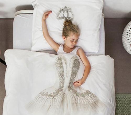 Snurk Ballerina dekbedovertrek-140x220 cm