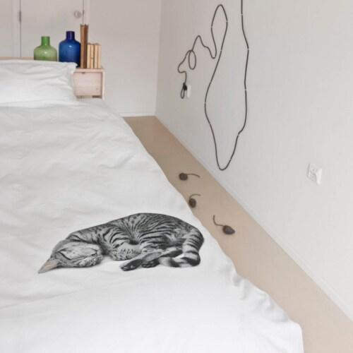 Snurk Ollie FLANEL dekbedovertrek-140x200/220 cm