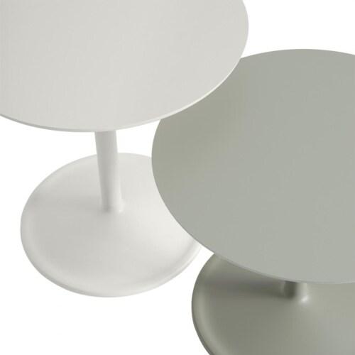 muuto Soft bijzettafel-Off-white-41x48 cm (Øxh)