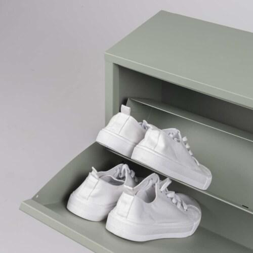 Spinder Design Billy 2 groen schoenenkast