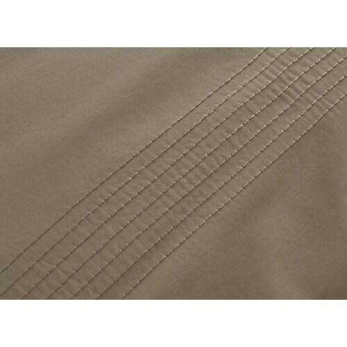 Auping Straight Stitch gold dekbedovertrek- 140x200/220 cm OUTLET