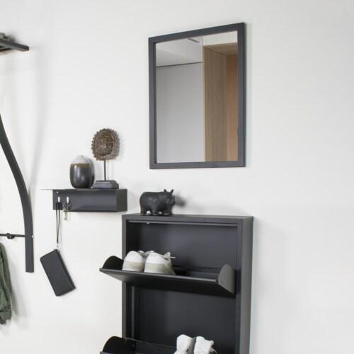 Spinder Design Senza klein spiegel-Zwart