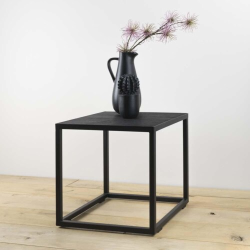 Spinder Design Daniël bijzettafel-40x40x40 cm