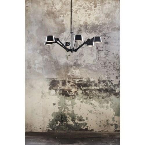 Tonone Bolt 6 Arm Chandelier hanglamp-Pure white